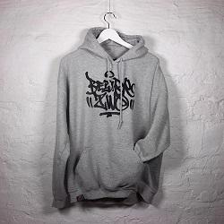 b2tag hoodie klein